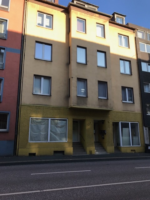 Wohn-und Geschäftshaus mit kleinem Garten und Betondecken im Zentrum von Hagen