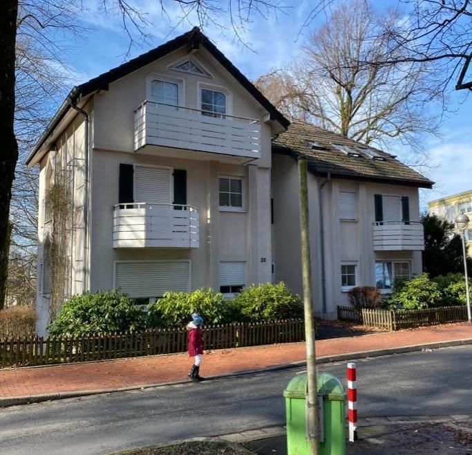 Dachgeschoß-Eigentumswohnung nahe Loher Wäldchen in Lüdenscheid mit Garage
